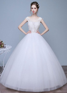 ivory-wedding-dresses-a-line-lace-applique-round-neck-keyhole-floor-length-bridal-dresses