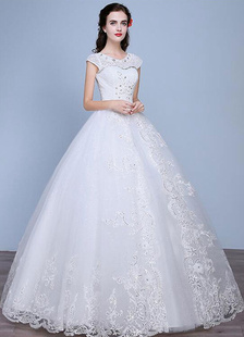 princess-wedding-dresses-a-line-lace-rhinestone-beaded-floor-length-ivory-bridal-dresses