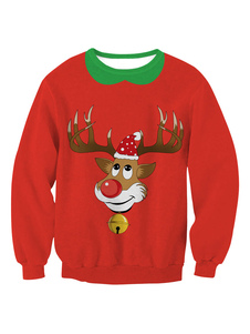 red-christmas-sweatshirt-deer-printed-women-long-sleeve-crewneck-hoodie