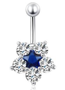 belly-button-rings-flower-star-women-glamorous-navel-jewellery
