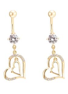 belly-button-rings-piercing-dangle-women-copper-navel-jewellery