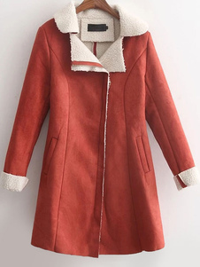 long-suede-coat-women-lined-fit-warm-winter-coat-in-oragnge-red