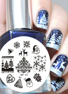 white-nail-stickers-snow-print-2-color-nail-accesories