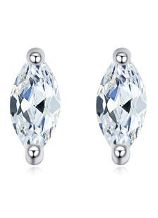silver-stud-earrings-copper-marquise-shape-rhinestone-wedding-earrings