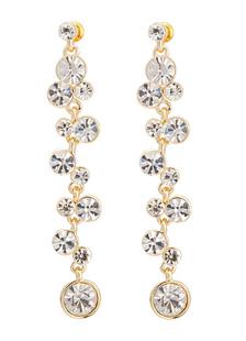 gold-weddings-earrings-elegant-alloy-rhinestone-duster-bridal-earrings