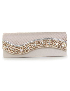 wedding-clutch-handbags-beaded-satin-pleated-single-chain-strap-bridal-evening-bags