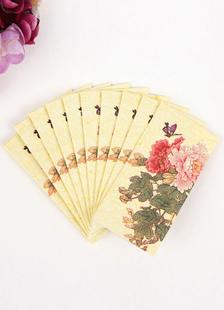 wedding-party-napkins-butterfly-flower-ecru-white-wedding-reception-5-packslot-10-pcspack