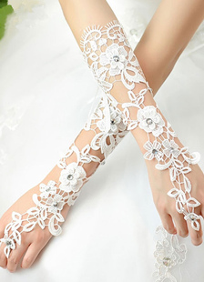 wedding-lace-gloves-fingerless-white-beading-flowesr-ribbon-hallow-out-elbow-length-bridal-gloves