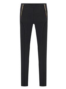skinny-black-pants-elastic-high-waist-women-zip-deco-tight-casual-pants