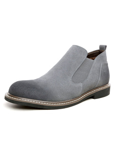Image of Chelsea di uomini stivali grigio superiore in difficoltà alla caviglia