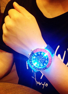 led-round-orange-sport-watch-for-men