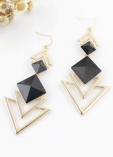 Image of Orecchini triangolo di resina