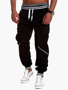 Pantalons Hommes Jogger 2020 Fit Drawstring Pantalon de survêtem