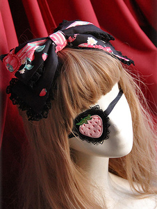 pink-lolita-gothic-blinder-strawberry-pattern-synthetic-accessories-for-women