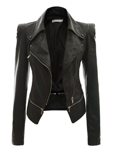 pu-leather-jacket-women-zippers-slim-fit-moto-jackets