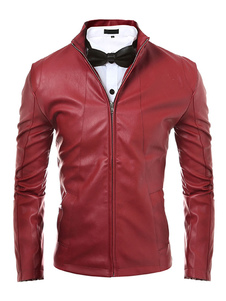 red-pu-leather-stylish-jacket-for-men