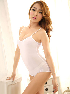 sexy-white-bodysuit-straps-slim-fit-sheer-backless-elastic-swimwear-for-girl