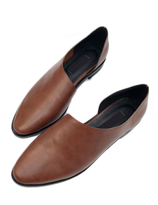 brown-flat-shoes-women-slip-on-casual-shoes