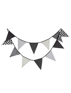 wedding-banner-flags-clipart-black-triangle-bunting-decorations