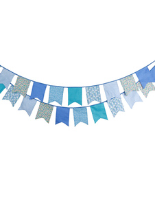 wedding-banner-flags-clipart-blue-bunting-decorations