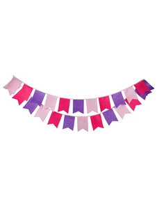 wedding-banner-flags-clipart-pink-multicolor-bunting-decorations