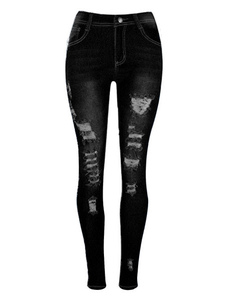 black-ripped-jeans-women-high-waisted-distressed-denim-skinny-pants