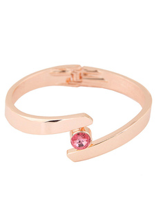 Image of Bracciale Bracciale strass donna gioiello gioiello in lega elegante braccialetto