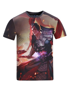 king-glory-character-lv-bu-comic-game-3d-print-t-shirt