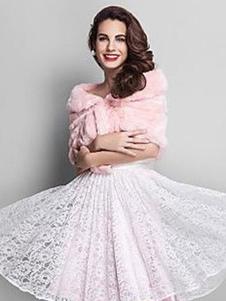 pink-wedding-shrug-faux-fur-stole-fluffy-bridal-wrap-shawl