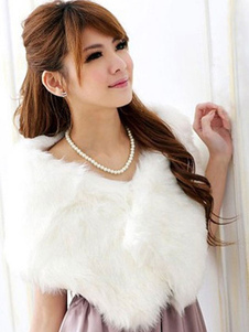 white-wedding-shawl-faux-fur-stole-fluffy-bridal-wrap-shrug