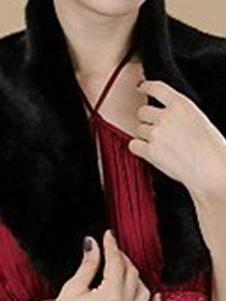 faux-fur-stole-wedding-shawl-black-fluffy-bridal-wrap-shrug