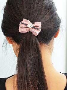 Image of Elastico Ponytail Holder accessori Hair Band femminile arco