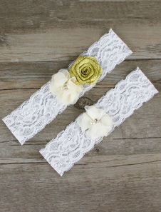 white-wedding-garter-lace-flowers-beading-bridal-accessories