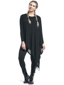Ponchos y Capas de mujer Capa estilo informal Color liso Fino de algodón mezclado con escote redondo estilo street wear