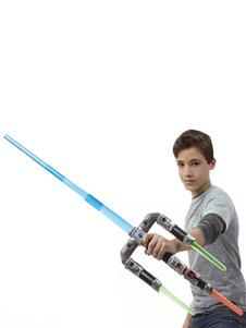 Image of Accessorio Cosplay arma argento di resina Star Wars per adulti da rave party  Carnevale