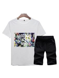 Image of Abbigliamento sportivo per uomo vestibilità Classico set con sta