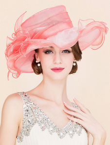 Cosplay Chapeau pour femme en Rayonne de bal de film chapeau  Halloween