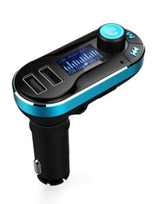 Cargador USB para coche Qualcomm Quick Charge Puertos dobles 2.0 USB para el control de la música del coche
