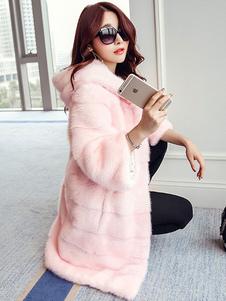 Image of Cappotto di pelliccia sintetica per le donne