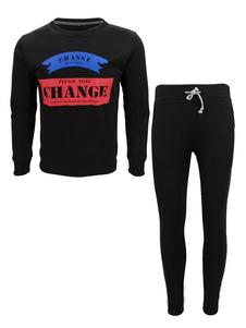 Image of Abbigliamento sportivo set vestibilità Slim con scollo tondo con