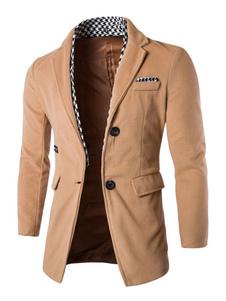 Image of Giacca Da Uomo 2019 Blazer Da Uomo Giacca Leggera Color Melanzan