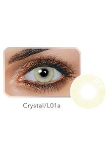 Lentillas cosméticas beige hidrogel de silicona para adultos