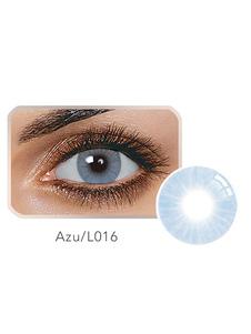 Lentillas cosméticas azul hidrogel de silicona para adultos