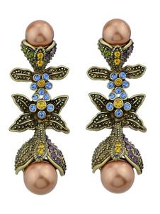 Image of Orecchino vintage in rilievo con orecchino in rilievo