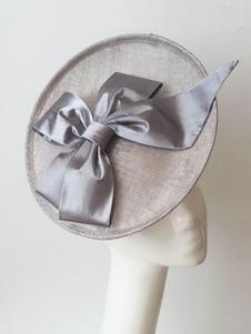 Image of Copricapo grigio chiaro accessori per la festa di matrimonio acc