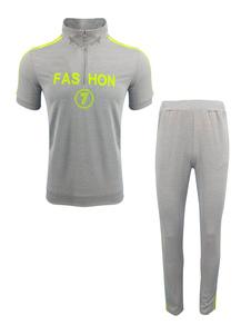 Image of Abbigliamento sportivo set vestibilità Slim con colletto alla co