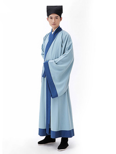 Image of Costumi Cinesi tweed set cina cappello&cintura&gown carnevale