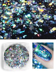 Image of Adesivi per unghie altro Dito glitterati per adulti gesso Pastello di Colori per Capelli festa