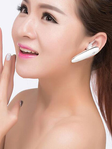 Image of Auricolare Bluetooth oro di plastica Cuffia Bluetooth Si No Port