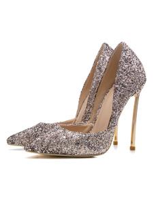 Chaussures de soirée pour Femmes 2018 bout pointu talon aiguille Escarpins femmes